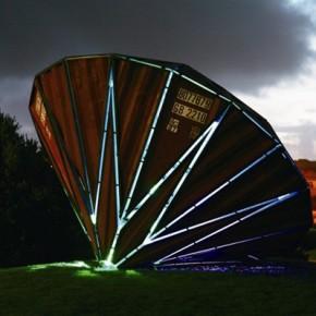 12 Hong Kong International Art Fair, Yin Xiuzhen's Black Hole, exhibiting at Pace Gallery