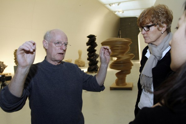Featured Interview with Tony Cragg on His Sculptures and Drawings