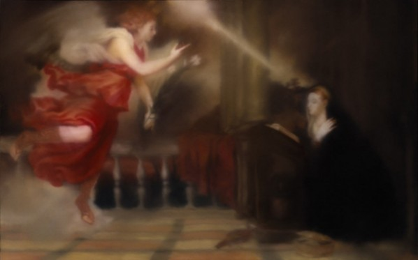 Gerhard Richter, Annunciation after Titian No.1