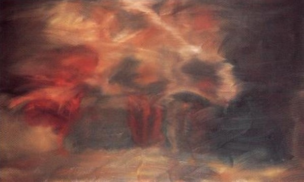 Gerhard Richter, Annunciation after Titian No.3