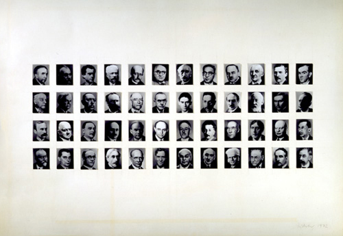 Gerhard Richter, For 48 Portraits, 1971-72