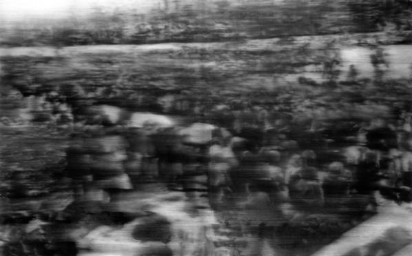 Gerhard Richter, Funeral(Beerdiggung), 200x320cm