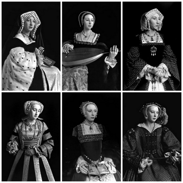 Hiroshi Sugimoto, Henry VIII and His Six Wives