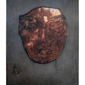 Kong Guoqiao, Face, 1998; intaglio, 33X25cm