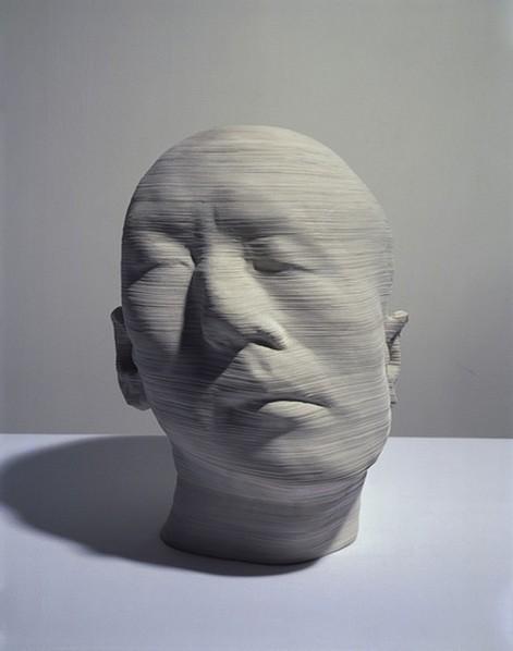 Li Hongjun, Rotation, 2008; Paper, 37 x 28 x 34 cm