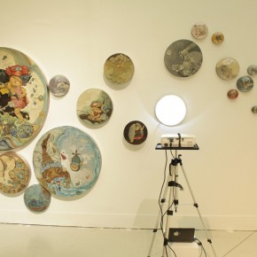 Liu Xiaoyong(Department of Mural Painting), Neverland, Installation View 02