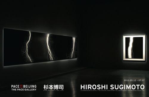 Poster of Hiroshi Sugimoto at Pace Beijing