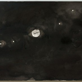 Shi Zhiying, Palomar--The Contemplation of the Stars, 2011-2012; Watercolor and ink on paper, 31×41cm