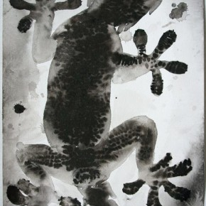 Shi Zhiying, Palomar--The Geckos Belly, 2011-2012; Watercolor and ink on paper, 41×31cm