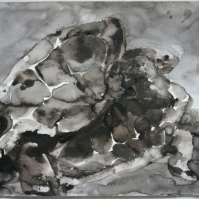 Shi Zhiying, Palomar--The Loves of the Tortoises, 2011-2012; Watercolor and ink on paper, 31×41cm