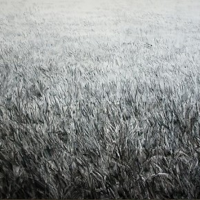 Shi Zhiying, The Infinite Lawn, 2012; Oil on canvas, 200×300cm
