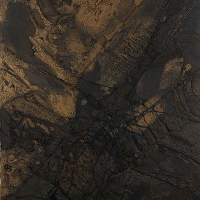Sky, Earth and Time-Qu Qianmei Solo Exhibition, 2012; L-25, mixed media, 180cmx130cm
