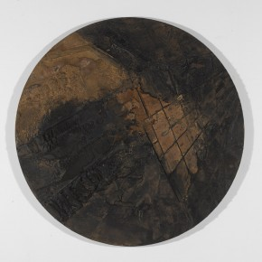 Sky, Earth and Time-Qu Qianmei Solo Exhibition, 2012 L R-06, mixed media, diameter 160cm