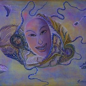Sun Liang, Chant, 1998; oil painting, 40x32cm