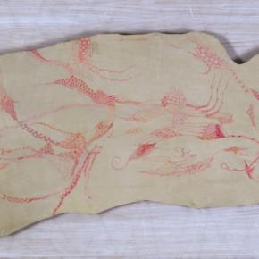 Sun Liang, Subcritical Flow, 2011; oil painting, 110x62cm