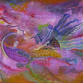 Sun Liang, Whisper, 2003; oil painting, 40x32cm