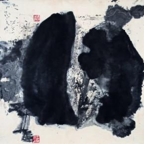 Wang Chuan, No. 6, 1986; ink on paper, 69x69cm