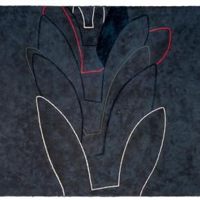 Yan Bo, Fold, 2010; painting, 131×162cm