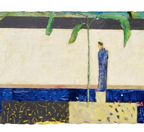 Yan Bo, Watching the pool, 2002; 30×122cm