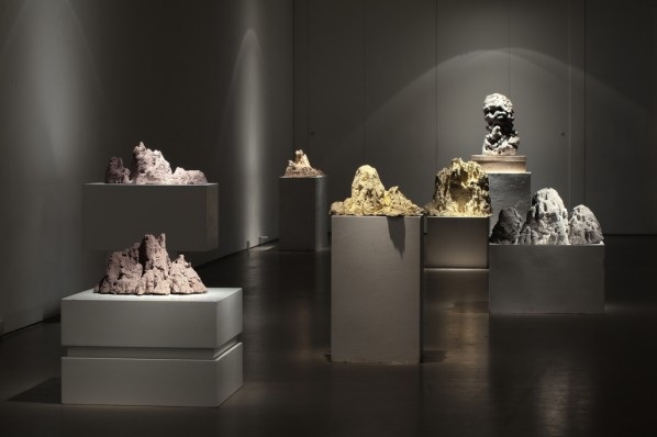 """Suyuan Stone Generator"" (2010) Exhibition View"
