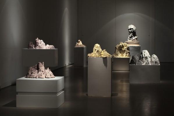 """Suyuan Stone Generator"" (2010) Exhibition View"