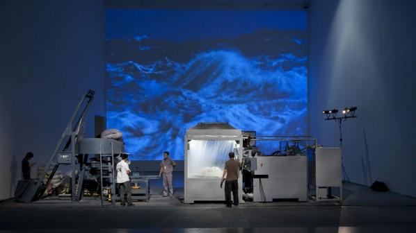 """Suyuan Stone Generator"" (2010) Installation View"