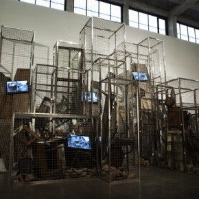 01 Ying Tianqi, Imprisoned(Image 5 of 8), 2012; Mixed Media, 794x270x416cm