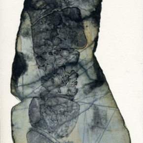09 Facts and Illustrations of Plants on the Mars #020-002, Artist: Li Shuang, 2007; Lithograph, 30×20 cm