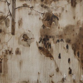 30.Eight famous scenes of Xiaoxiang•Jiuxi streamer Author: Jing Shijian; Year: 2012, Size: 250×400cm