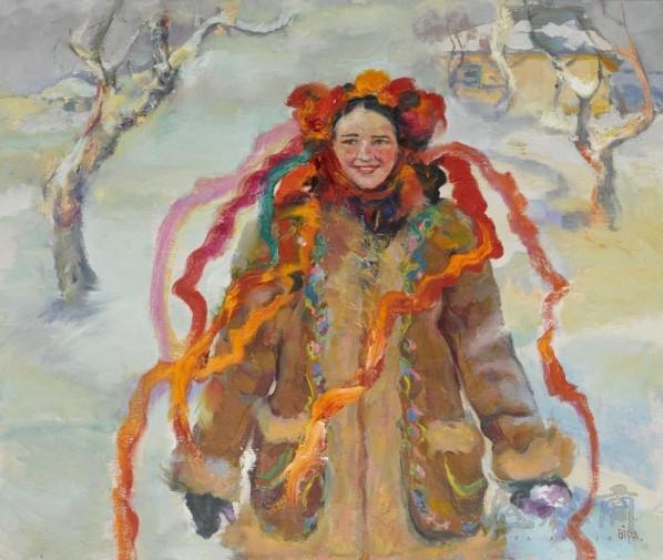 A Girl from Poltava, 2011; oil on canvas, 99x118cm