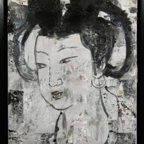 Chinese Ancient Beauty No.1102, 40 x 30 cm, 2011