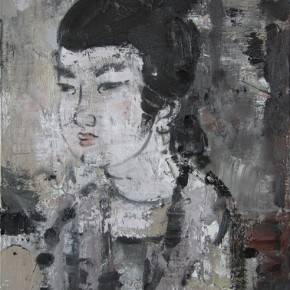Chinese Ancient Beauty No.1107, 56 x 42 cm, 2011