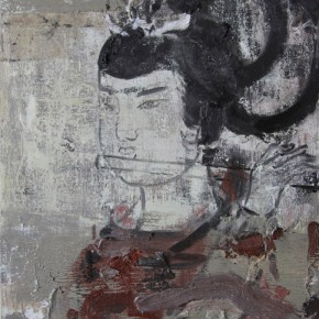 Chinese Ancient Beauty No.1108, 56 x 42 cm, 2011