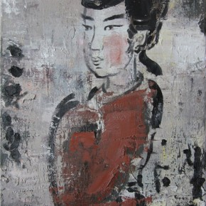 Chinese Ancient Beauty No.1110, 56 x 42 cm, 2011