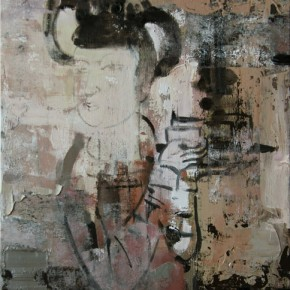 Chinese Ancient Beauty No.1115, 56 x 42 cm, 2011