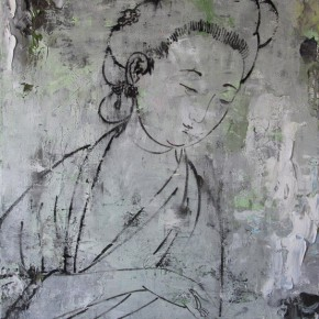 Chinese Ancient Beauty No.1209, 135 x 116 cm, 2012