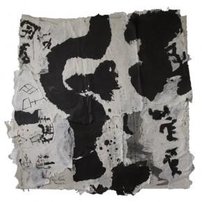 Conceptual Calligraphy No.1212, 133 x 128 x 2.5 cm, 2012