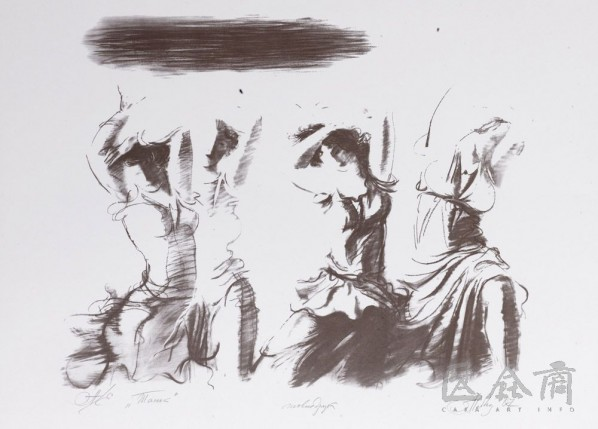 Dance, 2007; print, 47x57cm