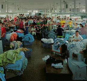 Double Rhapsody-04, Chen Jiagang, 2011; Yiwu - Shirt Factory