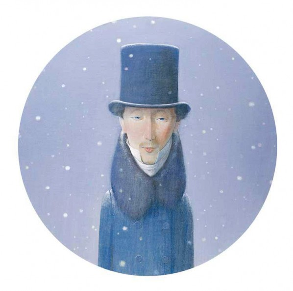 Figure 11. Contemporary Chinese artist Liu Ye created a portrait entitled Snow Andersen (imitation of Albert Küchler's eponymous work, 1874)
