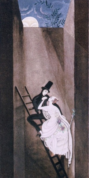 Figure 8. Kay Nielsen's Shepherdess and Chinmney Sweep, 1924