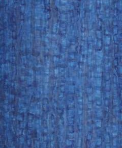 Jiang Weitao, Blue, 2012; Ink on paper, 69×32cm