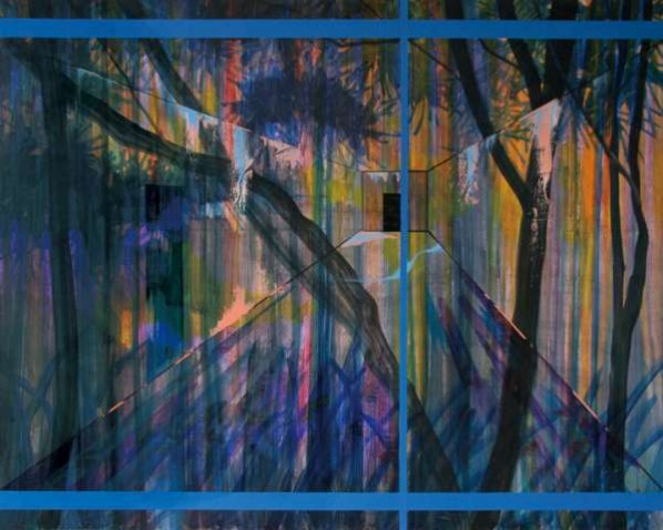 Jiang Weitao, Window, 2012; Oil on canvas, 160×200cm