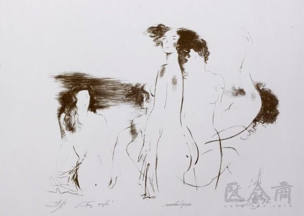 Three Female Bodies, 2007; print, 47x57cm