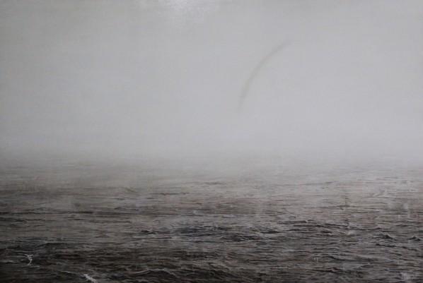 Yu Hongchun, White Sea, 2010; oil on canvas, 180cmx130cm