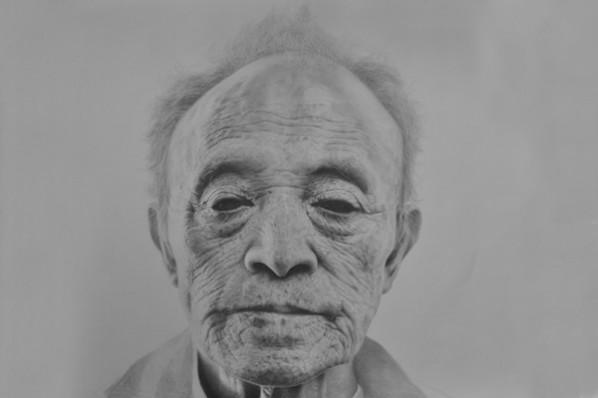Zhang Shujian, Black Eyes, 2012; 160×200cm