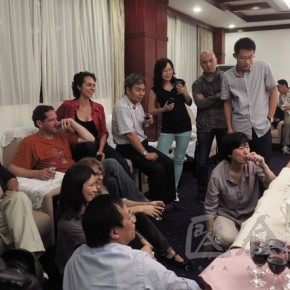 03 Photo took during Dialogues among the Chinese and Foreign Artists at Huangshan