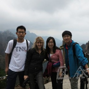 08 Photo took during Dialogues among the Chinese and Foreign Artists at Huangshan