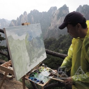 18 Photo took during Dialogues among the Chinese and Foreign Artists at Huangshan