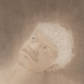 Artist HANG Chunhui, Looking Up at the Light, 2012; painting, 60 × 43 cm